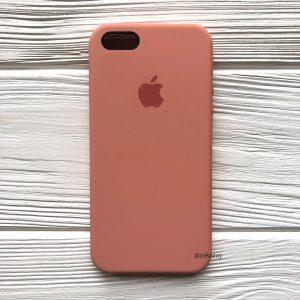 Оригинальный силиконовый чехол (Silicone case) для Iphone 5 / 5s / SE (Flamingo) №25