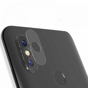 Защитное стекло на камеру для Xiaomi Mi 8 / Mi 8 Explorer (Прозрачное)