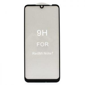 Защитное стекло 5D Premium 9H Full Glue на весь экран для Xiaomi Redmi Note 7 / 7 Pro / 7s – Black