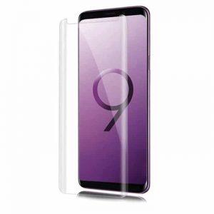 Защитное стекло 3D / 5D UV Full Glue с УФ клеем  для Samsung N960 Note 9 (Прозрачное)