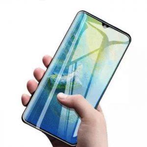 Защитное стекло 3D / 5D UV Full Glue с УФ клеем для Huawei P30 Pro (Прозрачное)