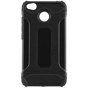 Черный противоударный (ударопрочный) бронированный чехол (бампер) Spigen для Xiaomi Redmi 4x (Black)