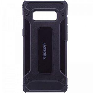 Черный противоударный (ударопрочный) бронированный чехол (бампер) Spigen для Samsung G970 Galaxy S10e (Black)