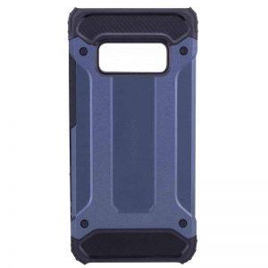 Синий противоударный (ударопрочный) бронированный чехол (бампер) Spigen для Samsung G970 Galaxy S10e (Navy Blue)