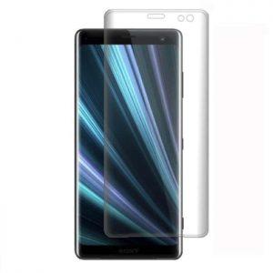 Защитное стекло 3D Full Cover для Sony XZ3 на весь экран – Clear