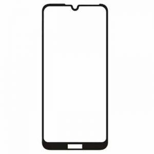 Защитное стекло 3D (5D) Full Glue Armor Glass на весь экран для Huawei Y6 2019 / Honor 8A – Black