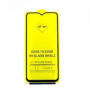 Защитное стекло 9D Full Glue (на весь экран) для Huawei Y7 (2019) (Black)