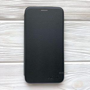 Кожаный чехол-книжка Aspor с визитницей для Meizu M6 (Черный / Black)