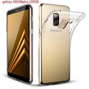 Прозрачный силиконовый (TPU) чехол (накладка) для Samsung A730 Galaxy A8 Plus (2018) (Сlear)