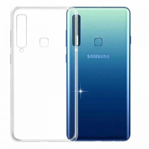 Прозрачный силиконовый (TPU) чехол (накладка) для Samsung A920 Galaxy A9 (2018) (Сlear)