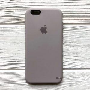 Оригинальный чехол Silicone Case с микрофиброй для Iphone 6 / 6s №34 (Lavender)
