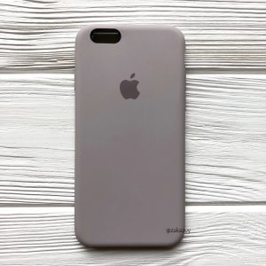 Оригинальный чехол Silicone Case с микрофиброй для Iphone 6 / 6s №34 (Lavender)