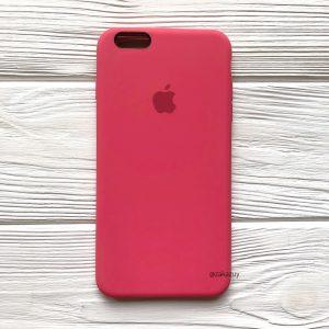 Оригинальный чехол Silicone Case с микрофиброй для Iphone 6 / 6s №40 (Rose)