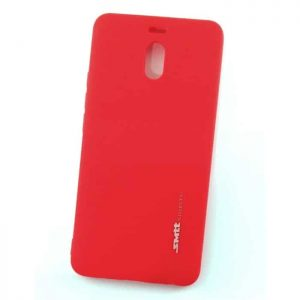 Матовый силиконовый (TPU) чехол (накладка) Smitt для Meizu M6 Note (Красный / Red)