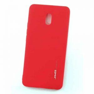Матовый силиконовый (TPU) чехол (накладка) Smitt для Meizu M6 (Красный / Red)