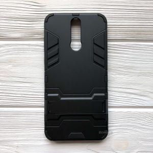 Ударопрочный чехол Transformer с подставкой на Huawei Mate 10 Lite (Black)