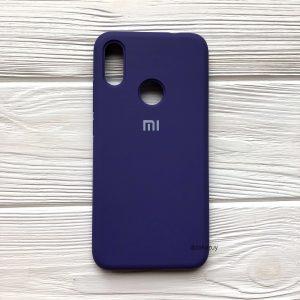 Оригинальный чехол Silicone Cover 360 с микрофиброй для Xiaomi Redmi Note 7 / 7 Pro (Фиолетовый)