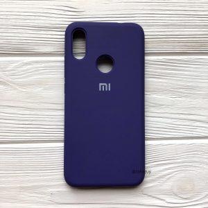 Оригинальный чехол Silicone Cover 360 с микрофиброй для Redmi 6 Pro / Mi A2 Lite – Фиолетовый