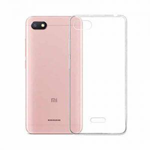 Прозрачный силиконовый (TPU) чехол (накладка) для Xiaomi Redmi 6A (Сlear)