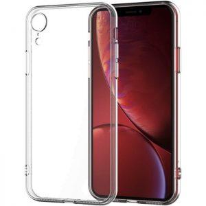 Прозрачный силиконовый (TPU) чехол (накладка) для Iphone XR (Сlear)