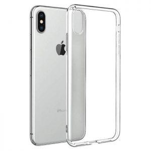 Прозрачный силиконовый (TPU) чехол (накладка) для Iphone XS Max (Сlear)