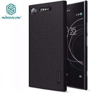 Пластиковый чехол (накладка) Nillkin Matte для Sony XZ1 (Черный / Black)
