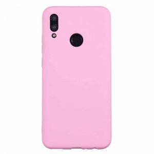 Матовый силиконовый (TPU) чехол для Xiaomi Redmi 7 (Розовый)