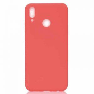 Матовый силиконовый TPU чехол на Huawei Y6 2019 / Honor 8A (Красный)