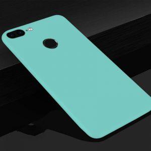 Матовый силиконовый TPU чехол на Huawei Y7 Prime (2018) / Honor 7C Pro (Бирюзовый)