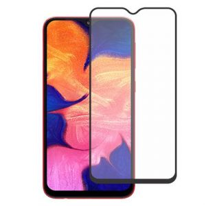 Защитное стекло 3D (5D) Full Glue Armor Glass на весь экран для Samsung Galaxy A10 (A105) – Black