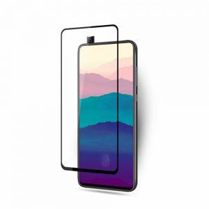 Защитное стекло 3D / 5D Full Glue на весь экран для Samsung A905 Galaxy A90 2019 (Black)