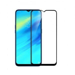 Защитное стекло 3D / 5D Full Glue на весь экран для Samsung Galaxy M10 (Black)