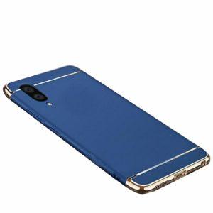 Матовый пластиковый чехол Joint Series для Samsung Galaxy M10 (Blue)