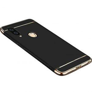 Матовый пластиковый чехол Joint Series для Samsung Galaxy M10 (Black)
