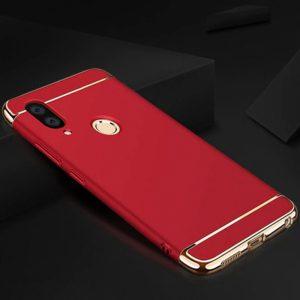 Матовый пластиковый чехол Joint Series для Samsung Galaxy M10 (Red)