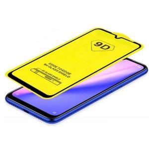 Защитное стекло 9D Full Glue Cover Glass на весь экран для Xiaomi Redmi 7 — Black