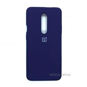 Оригинальный чехол Silicone Cover 360 с микрофиброй для OnePlus 7 Pro (Purple)