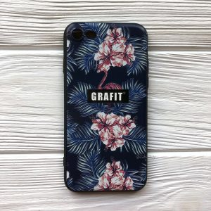 Cиликоновый чехол Omeve Pictures для Iphone 7 / 8 / SE (2020) – Grafit