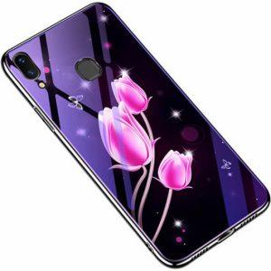 TPU+Glass чехол Fantasy с глянцевыми торцами для Samsung A205 / A305 Galaxy A20 / A30 2019 (Tulip)