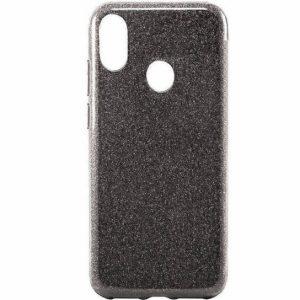 Cиликоновый (TPU+PC) чехол Shine с блестками для Samsung A205 / A305 Galaxy A20 / A30 2019 (Черный)