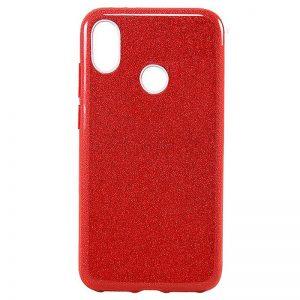 Cиликоновый (TPU+PC) чехол Shine с блестками для Samsung A205 / A305 Galaxy A20 / A30 2019 (Красный)