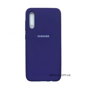 Оригинальный чехол Silicone Cover 360 с микрофиброй для Samsung Galaxy A50 2019 (A505) / A30s 2019 (A307) (Purple)