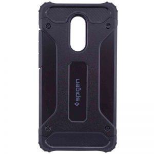 Противоударный бронированный чехол Spigen для Xiaomi Pocophone F1 (Black)