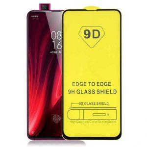 Защитное стекло 9D Full Glue на весь экран для Xiaomi Redmi K20 / K20 Pro / Mi 9T / Mi 9T Pro (Black)