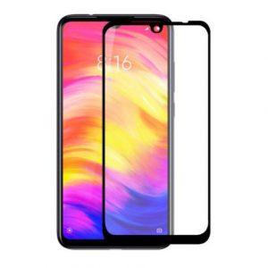 Защитное стекло 3D / 5D Full Glue на весь экран для Xiaomi Mi 9 (Black)