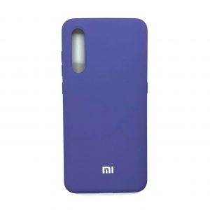 Оригинальный чехол Silicone Cover 360 с микрофиброй для Xiaomi Mi 9 (Светло-фиолетовый)