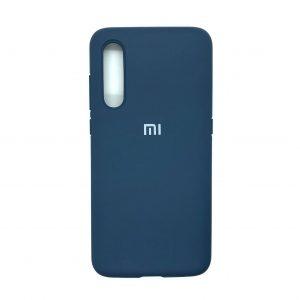 Оригинальный чехол Silicone Cover 360 с микрофиброй для Xiaomi Mi 9 SE (Синий)