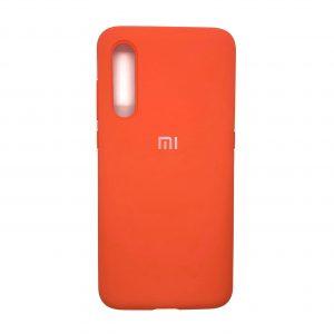 Оригинальный чехол Silicone Cover 360 с микрофиброй для Xiaomi Mi 9 (Оранжевый)