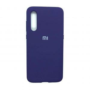 Оригинальный чехол Silicone Cover 360 с микрофиброй для Xiaomi Mi 9 (Фиолетовый)