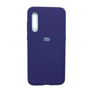 Оригинальный чехол Silicone Cover 360 с микрофиброй для Xiaomi Mi 9 SE (Фиолетовый)